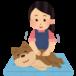 高齢で足腰の弱ってきた犬や、膝や腰にトラブルを抱えた犬に≪スウェーデン式ドッグマッサージ≫を試してみませんか?